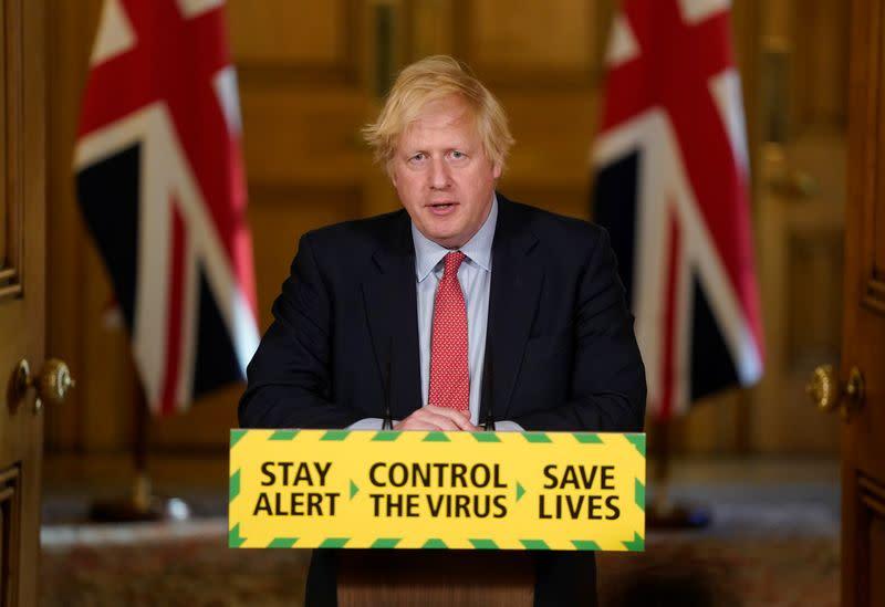 UK PM Johnson satisfied with senior aide's explanation - spokesman
