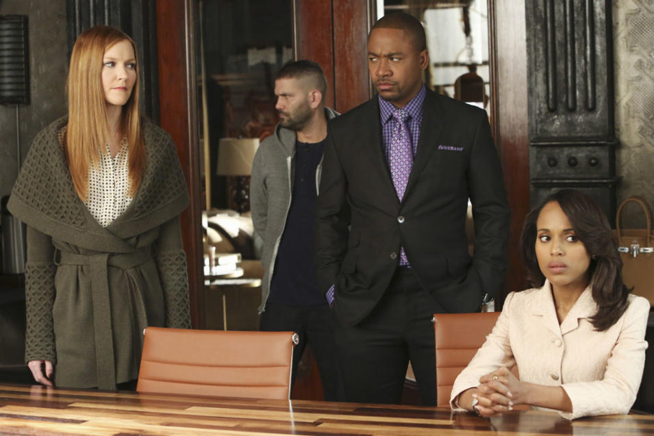DARBY STANCHFIELD, GUILLERMO DIAZ, COLUMBUS SHORT, KERRY WASHINGTON