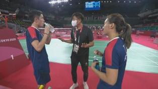 羽毛球混雙準決賽港隊不敵國家隊 將與日本爭銅牌