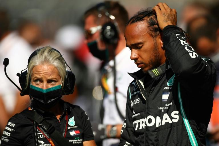 Hamilton on brink of equalling Schumacher's 'untouchable' record