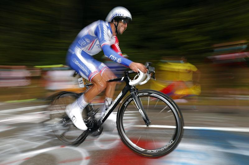 Tour de France 2020 - 107th Edition - 20th stage Lure - La Planche des Belles Filles 36.2 km - 19/09/2020 - Thibaut Pinot (FRA - Groupama - FDJ) - photo POOL/BettiniPhoto©2020