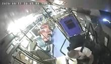 內湖公車撞人行道!司機打2次瞌睡畫面曝 業者有話說