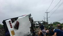 快訊》泰國火車撞巴士! 釀至少20死、30傷