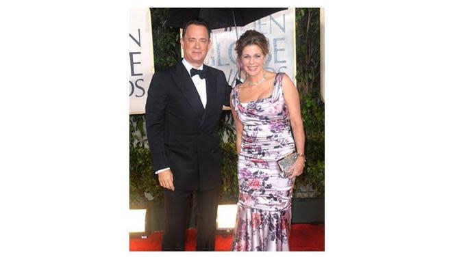 Tom Hanks dan Rita Wilson (Sumber: Instagram/@ritawilson)