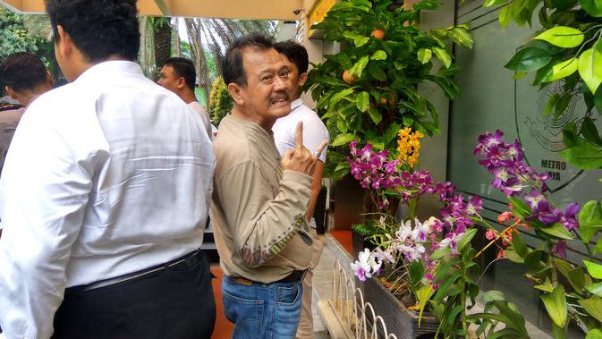 Ki Gendeng Pamungkas ditangkap karena ujaran kebencian (Liputan6.com/Nafis)