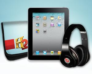 Yahoo! TV Giveaway: iPad 2 and Beats by Dr. Dre Headphones from H2