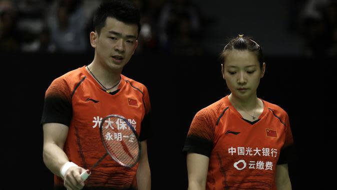 Ganda campuran Tiongkok, Zheng Si Wei/Huang Ya Qiong. (Bola.com/Yoppy Renato)