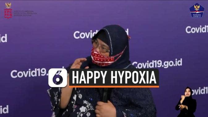 VIDEO: Sejumlah Pasien Covid-19 Alami Happy Hypoxia, Apa Itu?