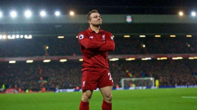 Shaqiri Bertahan di Liverpool, Alasannya Apa?