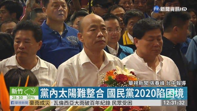 台中連掃21宮廟 韓國瑜狂轟執政黨