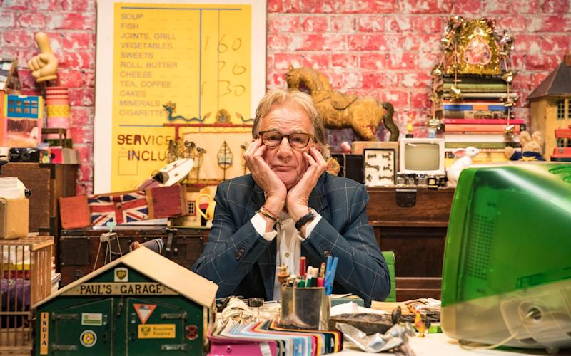 Paul Smith in his office - Courtesy of Paul Smith