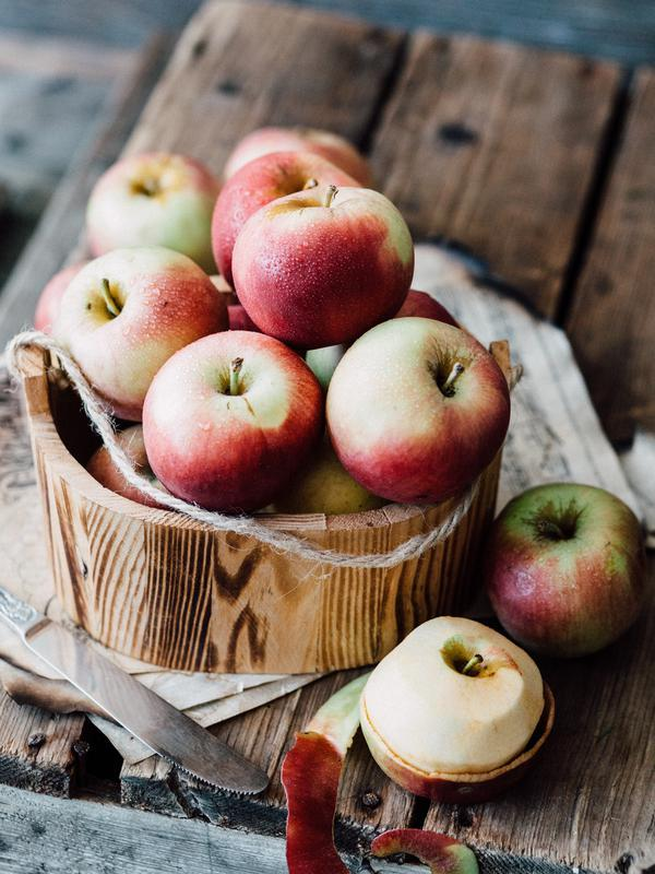 Ilustrasi buah apel. /copyright pexels.com/pixabay
