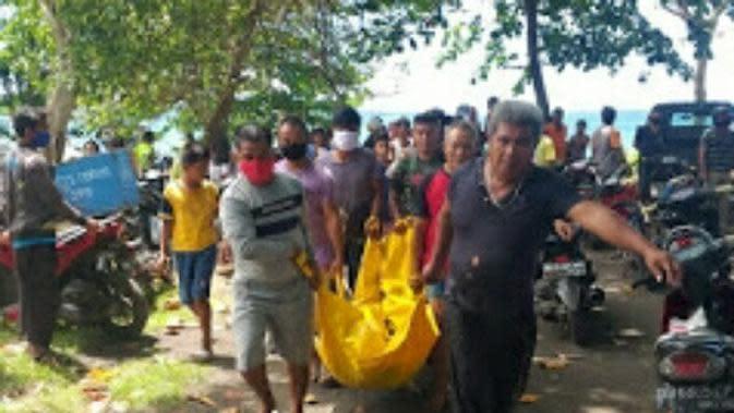 Pamit ke Istri Mencari Ikan, Nelayan Bitung Ditemukan Mengapung di Pantai