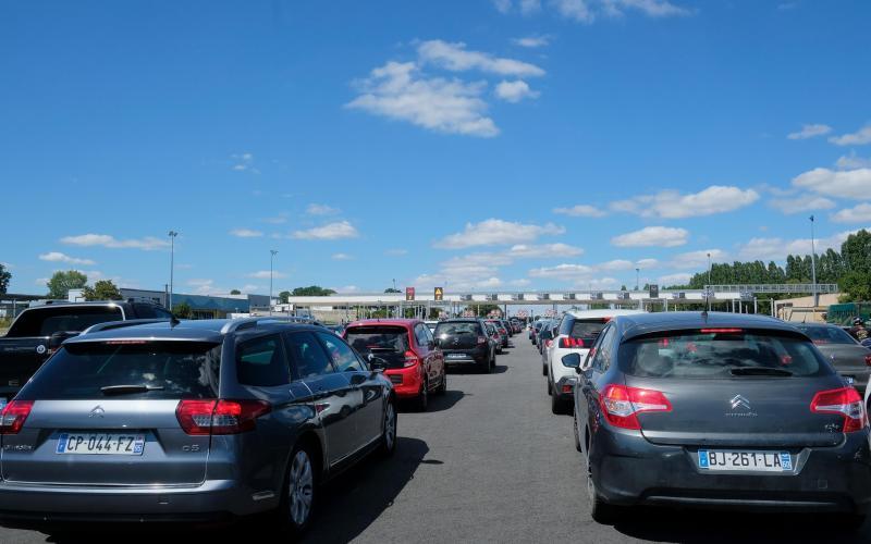 France traffic - Getty