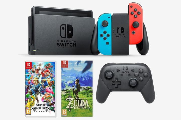 Nintendo Switch deals - Super Smash and Breath of the Wild bundle
