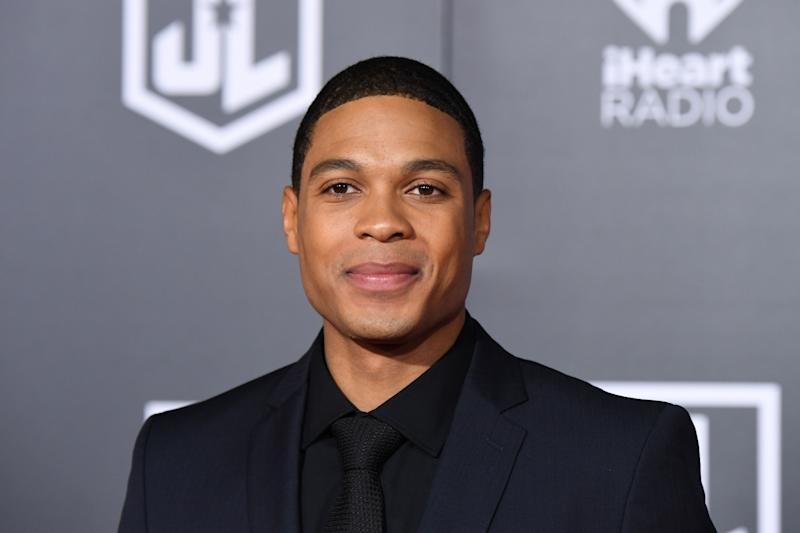 Ray Fisher arrives for the world premiere of 'Justice League' on November 13, 2017. (Credit: Robyn Beck/AFP via Getty Images)
