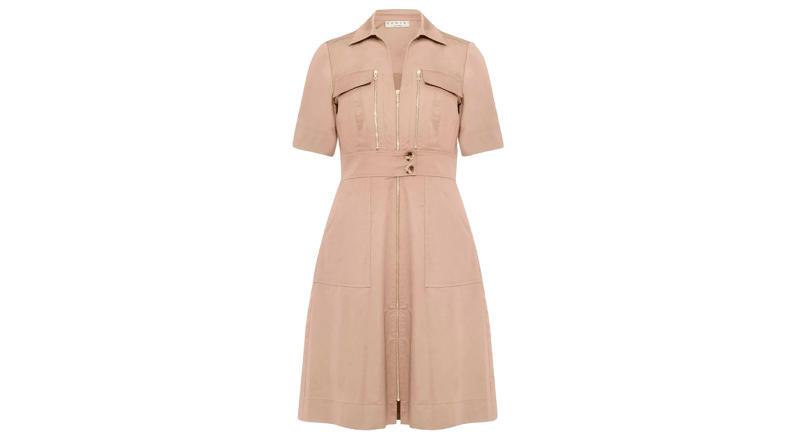 Blaire Zip Front Dress
