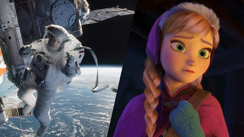 'Gravity,' 'Frozen' Win Big at Intl. 3D Society Awards