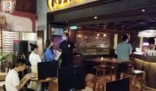 尖沙咀酒吧區周末人流減少 食環署檢測承辦商到場派樣本瓶