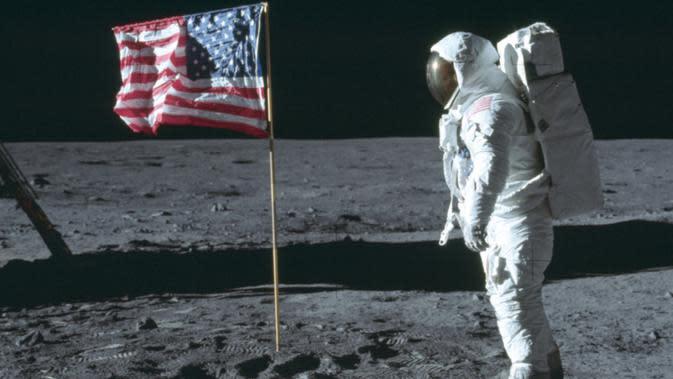 Cuplikan dari video pendaratan di bulan yang langka. Dok: Sotheby's