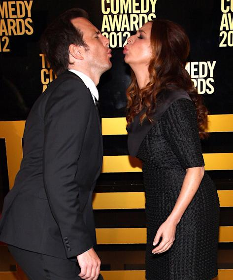 Will Arnett and Maya Rudolph
