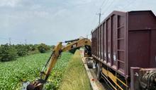 一口氣撈除將近120公噸布袋蓮 嘉義市清淨河面