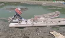 明德水庫蓄水量剩18% 水利署忙清淤