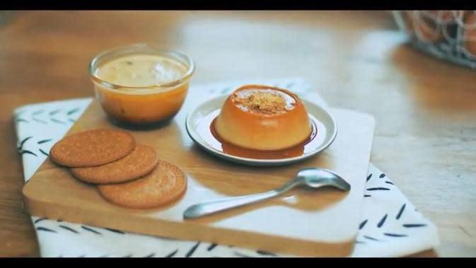 Resep Puding Biskuit Karamel, Camilan Manis untuk Berbuka Puasa