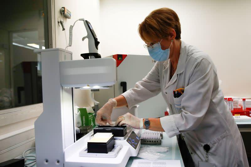 French labs show how global supply bottlenecks thwart effort to ramp up testing