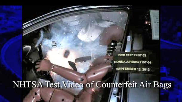 Feds warn millions of drivers to pay for counterfeit air bag inspections