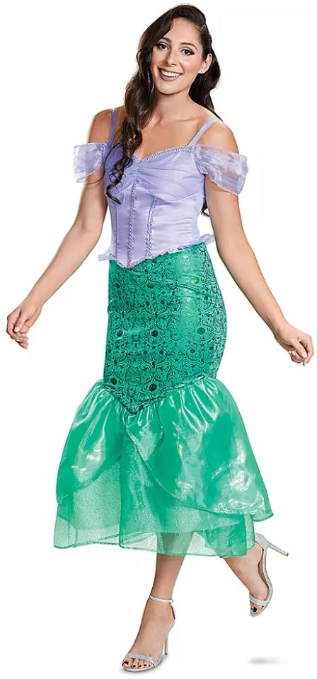 Ariel Deluxe Costume for Adults (Photo via ShopDisney.com)