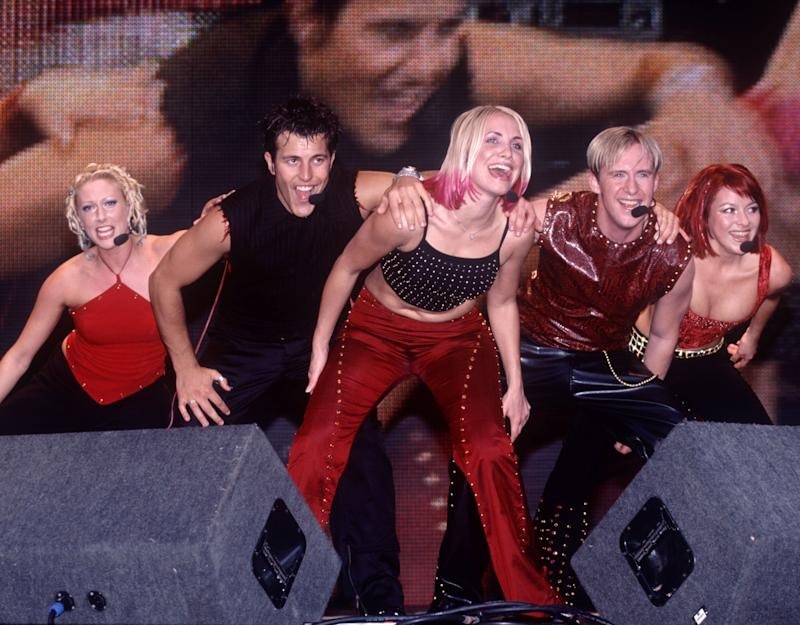 'All Saints and Five and S Club 7 would be all dripping in designer, whereas we'd be there in our same little sad red-and-black top'Rex Features