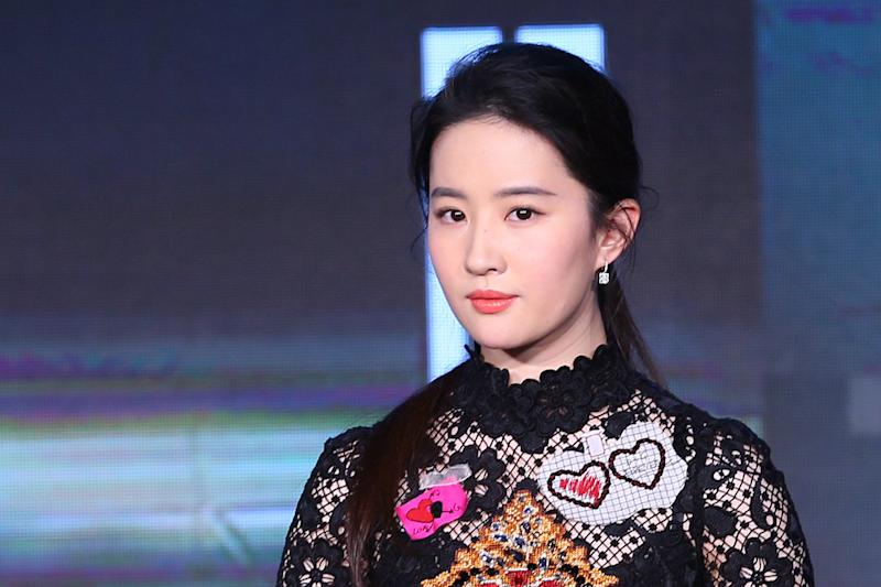 Mulan star Liu Yifei (pictured in 2017) has spoken about the coronovirus outbreak which originated in her native Wuhan. (Photo: Visual China Group via Getty Images/Visual China Group via Getty Images)