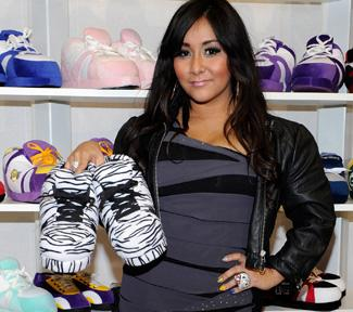 Snooki Launching Slipper Line for Children and Infants