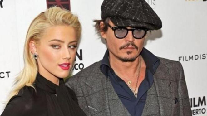 Johnny Depp dan Amber Heard