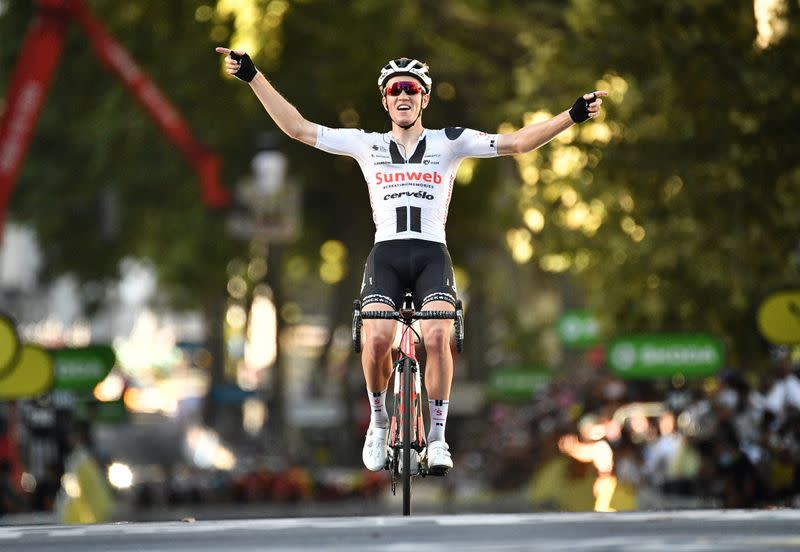 Kragh Andersen wins stage 14 of the Tour de France