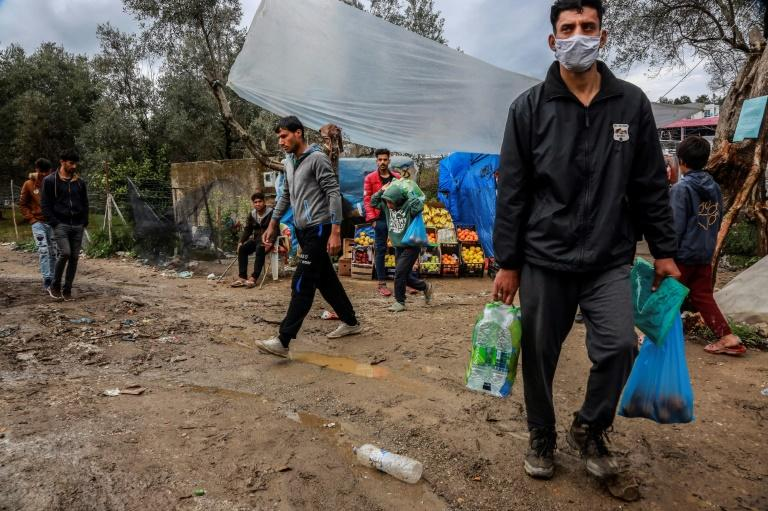 So far, the Moria camp has been spared the pandemic but others have not been so fortunate