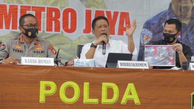 Editor Metro TV Yodi Prabowo Positif Amphetamine, dari Mana Dapatnya?