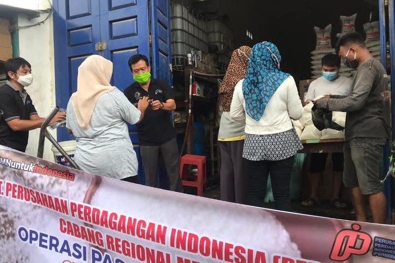 PT PPI gelar operasi pasar di Medan untuk tekan harga gula pasir