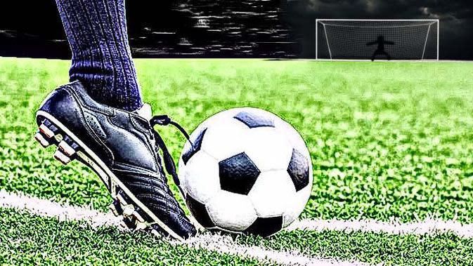 Ilustrasi sepak bola (Abdillah/Liputan6.com)