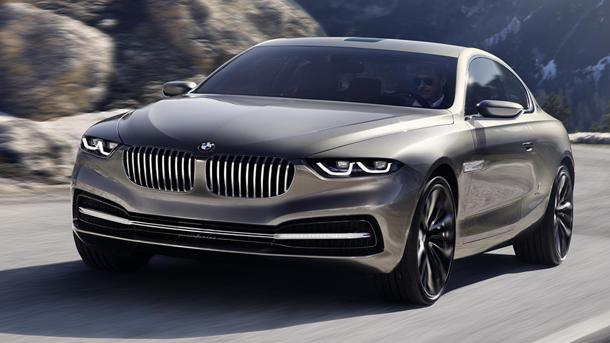 BMW Pininfarina Gran Lusso Coupe concept fills an 8-Series gap