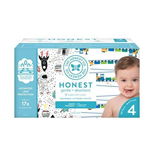 """<p><strong>The Honest Company</strong></p><p>amazon.com</p><p><strong>$38.97</strong></p><p><a href=""""https://www.amazon.com/dp/B07GS7RD36?tag=syn-yahoo-20&ascsubtag=%5Bartid%7C10055.g.33797559%5Bsrc%7Cyahoo-us"""" target=""""_blank"""">Shop Now</a></p><p>In addition to being super-soft and absorbent, this set of diapers come in a bunch of oh-so-adorable prints. </p>"""
