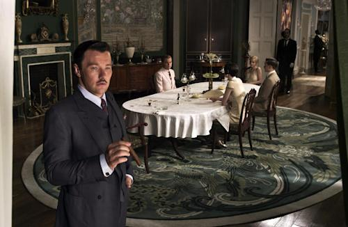 "This film publicity image released by Warner Bros. Pictures shows Joel Edgerton as Tom Buchanan in a scene from ""The Great Gatsby."" (AP Photo/Warner Bros. Pictures)"