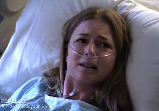 Revenge Sneak Peek: What Does Death-Defying Emily Have to Say to Her Shooter?