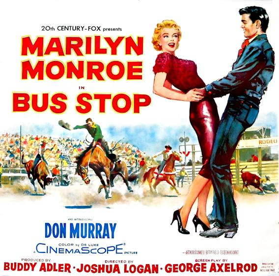 5 Most Memorable Marilyn Monroe Performances, Bus Stop Poster