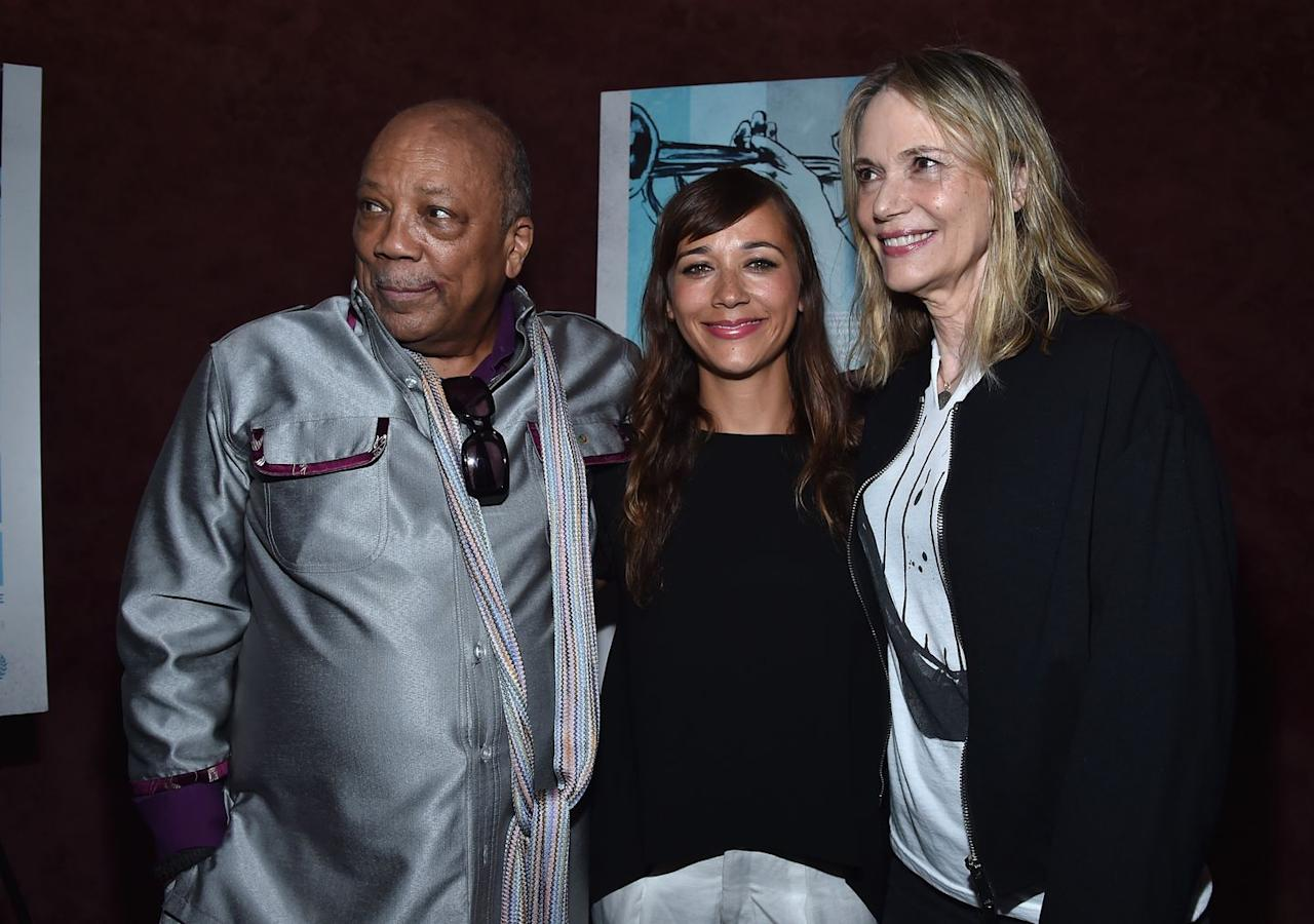 <p>This <em>Parks and Recreation </em>alum is the offspring of two industry powerhouses. The daughter of <em>The Mod Squad</em> actress Peggy Lipton and music executive Quincy Jones, Rashida was even close family friends with the Jacksons when she was growing up.<em></em><em></em></p>
