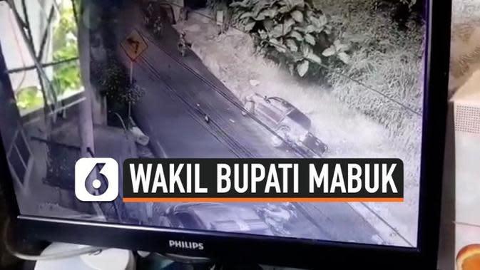 VIDEO: Menyetir Sambil Mabuk, Wakil Bupati Tabrak Polwan Hingga Tewas