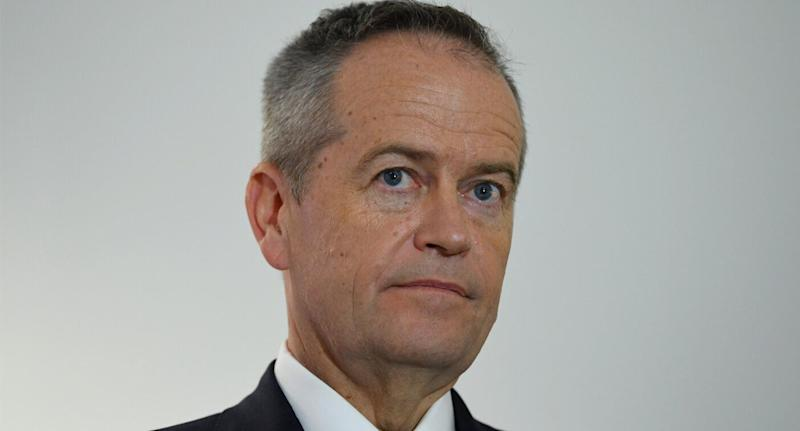 A photo of Opposition Leader Bill Shorten