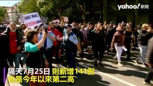 澳洲數千人無罩上街「反封城」爆衝突 警痛罵自私的笨蛋