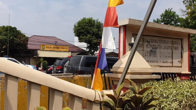 Kondisi Polsek Ciracas usai diserang 100 orang tak dikenal (Nanda Perdana)